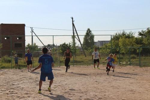 Бывает… Команда сотрудников полиции Чесмы проиграла в футбол подшефным воспитанникам