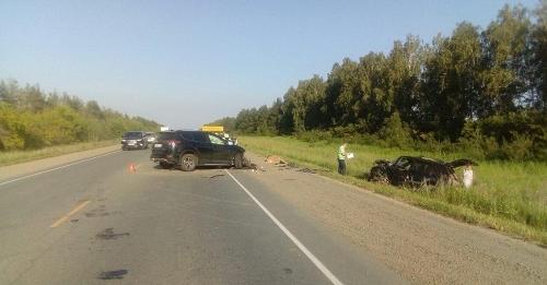 В рубашке родился. Водитель из Чесменского района едва избежал гибели в страшной аварии на трассе