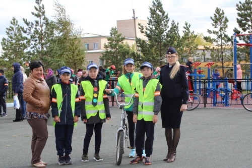 «Я буду долго гнать велосипед…» Юные велосипедисты Чесменского района проверили свои колёса на безопасность