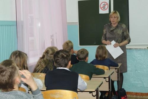 Такой урок будет  впрок. Школьники Чесмы говорили о законе, правах и обязанностях