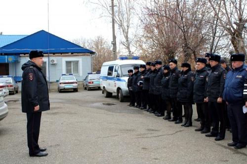 Зимний вариант. Чесменские правоохранители сменили форму одежды