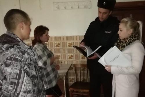 Жить без ненависти и вражды. Сотрудники Чесменской полиции проводят беседы с земляками