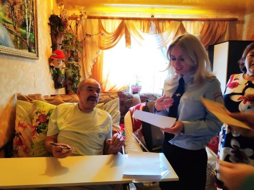 Доброе слово всегда приятно. Начальник чесменской полиции получил благодарственное письмо на своих сотрудников