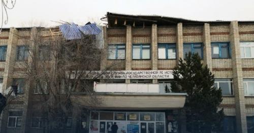 У детского сада улетела крыша. В посёлке Луговом Чесменского района случилось ЧП