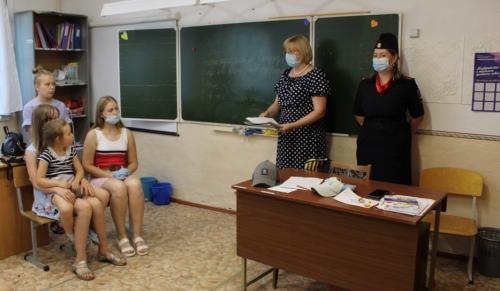 Береги личную информацию смолоду. Чесменские полицейские провели профилактическую беседу в детском оздоровительном лагере