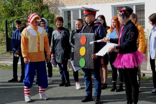Рыцари ПДД. Чесменских первоклассников посвятили в пешеходы