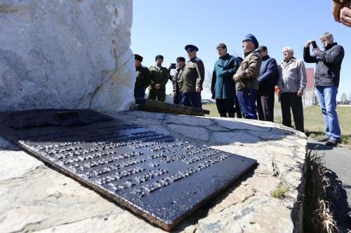 Чтобы помнили. На территории Чесменского кладбища обновлён памятник «Казачья слава»